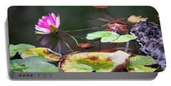 Water Lily #1 Portable Battery Charger
