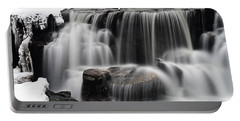 Waterfall And Snow Portable Battery Charger