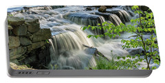 Waterfall At The Old Mill  Portable Battery Charger