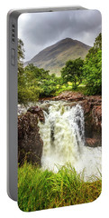 Waterfall Under The Mountain Portable Battery Charger