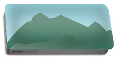 Wave Mountain Portable Battery Charger