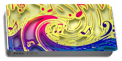 Waves Of Music 3d Portable Battery Charger