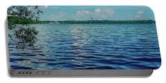 Waves On Lake Harriet Portable Battery Charger