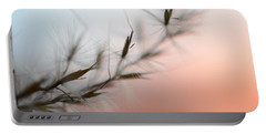 Portable Battery Charger featuring the photograph Weed Abstract by Marianna Mills