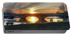 Weeks Bridge At Sunset Portable Battery Charger