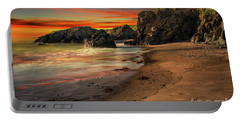 Welsh Coast Sunset Portable Battery Charger