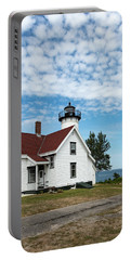 West Chop Lighthouse Marthas Vineyard Portable Battery Charger