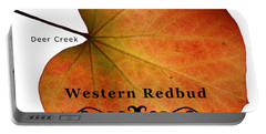Western Redbud Portable Battery Charger