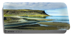 Westfjords, Iceland Portable Battery Charger