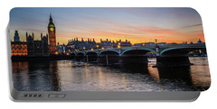 Westminster Sunset Portable Battery Charger