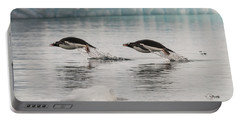 When Penguins Fly Portable Battery Charger