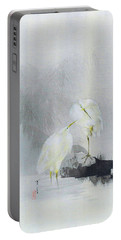 White Egret - Digital Remastered Edition Portable Battery Charger