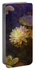 White Lotus Lily Pond 2938 Idp_2 Portable Battery Charger