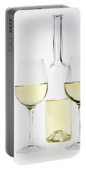 White Wine Portable Battery Charger