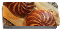 Whole Wheat Sourdough Swirls Portable Battery Charger