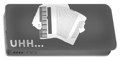 Why Do I Accordion Why Do You Breathe T-shirt Portable Battery Charger