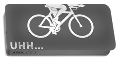 Why Do I Cycling Why Do You Breathe T-shirt Portable Battery Charger
