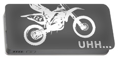 Why Do I Dirt-bike Why Do You Breathe T-shirt Portable Battery Charger
