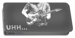 Why Do I Guitar Why Do You Breathe T-shirt Portable Battery Charger