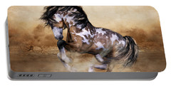 Wild And Free Horse Art Portable Battery Charger
