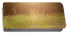 Wild And Precious Life Portable Battery Charger