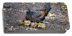 Wild Chickens Portable Battery Charger