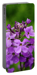 Wild Flowers In The Forest Portable Battery Charger