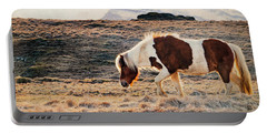 Wild Icelandic Horse Portable Battery Charger