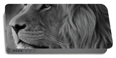 Wild Lion Face Portable Battery Charger