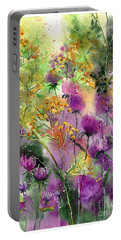 Wild Tansy Portable Battery Charger