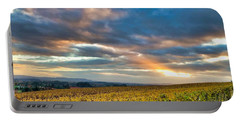Willamette Valley In Fall Portable Battery Charger