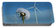 Wind Power Portable Battery Charger