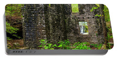 Portable Battery Charger featuring the photograph Window To The Waterfall by Andy Crawford