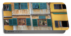 Windows Of  Ponte Vecchio Portable Battery Charger