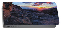 Windy Point Sunset Portable Battery Charger