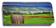 Portable Battery Charger featuring the photograph Wine Country - Finger Lakes, New York by Lynn Bauer