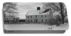 Winter At Noyes House Portable Battery Charger