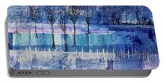 Winter Blues 1 Portable Battery Charger