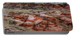 Portable Battery Charger featuring the photograph Winter Colors Of The Painted Desert by Jon Burch Photography