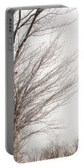 Winter Hoarfrost Portable Battery Charger