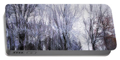 Winter Lace Portable Battery Charger