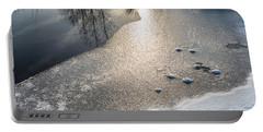 Winter Landscape At Whitesbog Portable Battery Charger