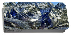 Winter Landscape In The Mountains Portable Battery Charger
