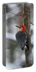 Winter Visitor Portable Battery Charger
