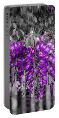 Wisteria Falling Portable Battery Charger