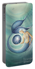 With Gratitude The Universe Is Hers Portable Battery Charger