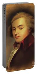 Wolfgang Amadeus Mozart, Music Legend Portable Battery Charger