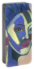 Woman Of Color Portable Battery Charger