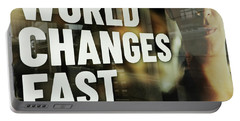 World Changes Fast Portable Battery Charger