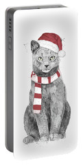 Xmas Cat Portable Battery Charger